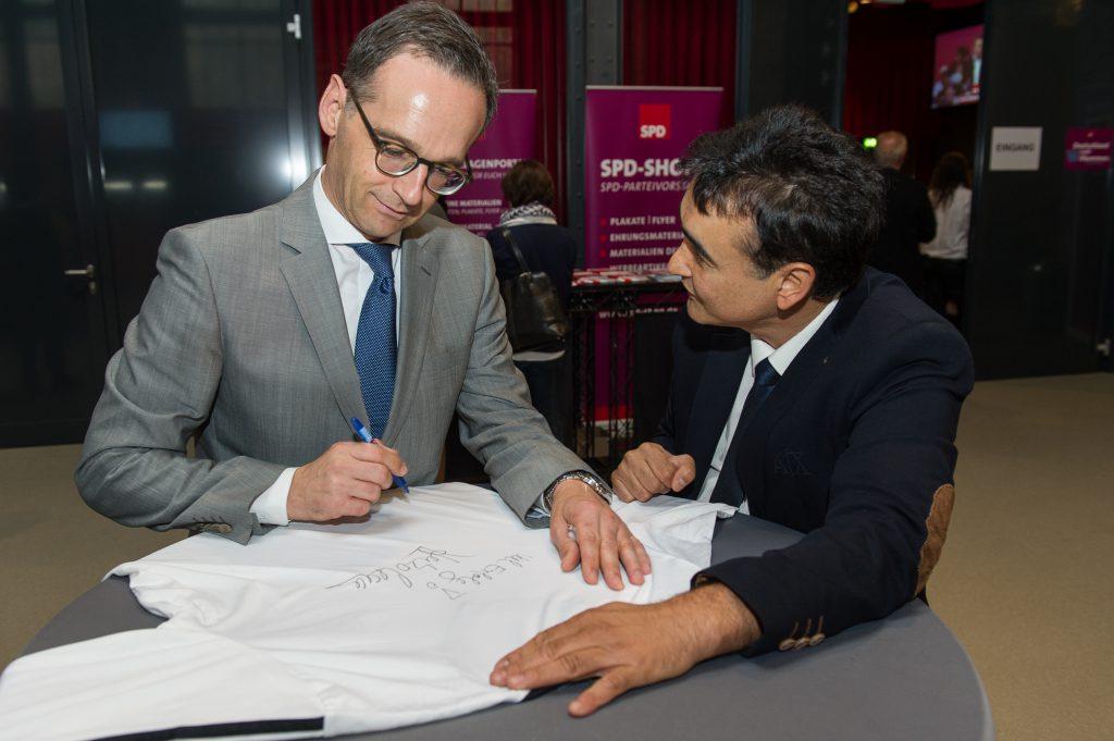 Trikotkette - Bundesjustizminister Heiko Maas